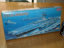 U.S.S. NIMITZ - (CVN-68) AIRCRAFT CARRIER, Plastic Model Kit, Scale 1:800