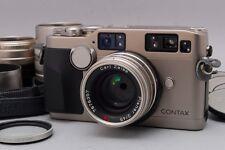 【NEAR MINT】 Contax G2 35mm Rangefinder Film Camera w/28,45,90 from Japan #1563