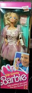 """1988 """"Gift Giving Barbie"""" #1205   NRFB"""