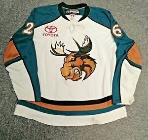 Shaun Heshka - Manitoba Moose AHL Game Worn Hockey Jersey