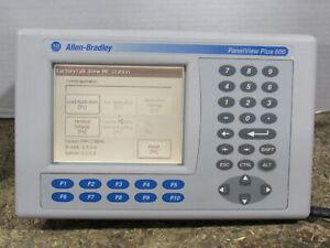 Allen Bradley PanelView Plus 600 2711P-K6M20A Series C Keypad Interface Terminal