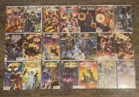 Infinity Wars 1 2 Countdown Prime Warps All KEY 1st App Mega Lot NM Avg Variant