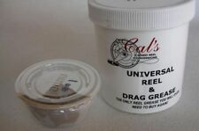 Cal's Universal Reel & Star Drag Grease 1 oz Cals TAN