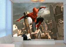HQ Wall Mural Spiderman Superhero New York Avenger Photo Wallpaper Kids Room 135