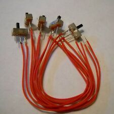 Mini Switches ON-OFF x 5 wired