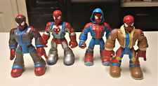 Spiderman Fisher Price Rescue Heros Lot of 4