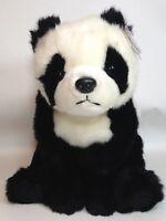 """Ty Buddy Panda Bear Bambo Plush Black White Stuffed Animal 1999 Buddies 15"""" TAG"""