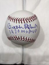"Brooks Robinson "" 1970 WS MVP "" Signed Baseball Autographed JSA COA Orioles"