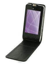Etui Slim cuir noir pour Sony Ericsson Aino