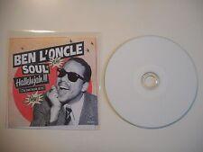BEN L'ONCLE SOUL : HALLELUJAH !!! [ CD SINGLE ]