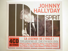 Johnny Hallyday coffret 4 CD Spirit of Johnny Hallyday
