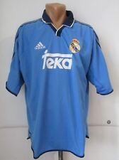 REAL MADRID 1999/2000 THIRD 3rd FOOTBALL SHIRT SOCCER JERSEY CAMISETA TEKA (XL)
