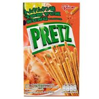 2BOXES GLICO POCKY PRETZ SNACK TOM YUM KUNG THAI FLAVOR BISCUIT BREAD STICK