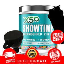 X50 Showtime Thermoshred Powder Pineapple Mango 325g