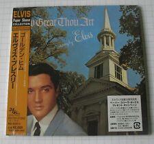 Elvis Presley-How Great Thou Art Remastered Japon MINI LP CD Nouveau! BVCM - 37092