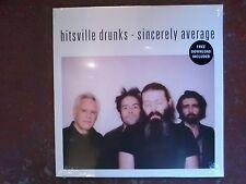 Hitsville Drunks(Mauro Pawlowski)-Sincerely Average-Vinyl/ LP - LTD - NEW/SEALED