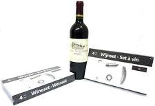 Set de vino, Accesorios VINO REGALO, sacacorchos, decantador, Termómetro