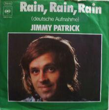 """7"""" 1973 COVERVERSION ! JIMMY PATRICK : Rain // VG+ \"""