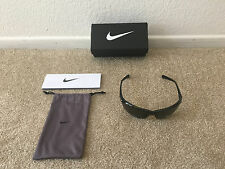 Black Nike Tailwind Sport EVO 491 Max Optics Sunglasses Grey Lens New Tags Box