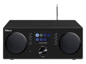 Block CR-20 schwarz Multimedia Radio,UKW,DAB+, Spotify, Bluetooth