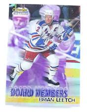 1998-99 O-Pee-Chee Chrome Board Members Refractors #B3 Brian Leetch Hockey Card