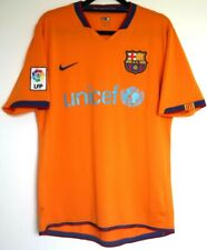 "Barcelona FC Shirt Away 2006/2007 Nike M Medium 37"" - 41"" Mens 06/07 Camiseta"