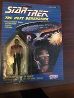 Star Trek The Next Generation Lieutenant Geordi La Forge NEW Figure Galoob 1988