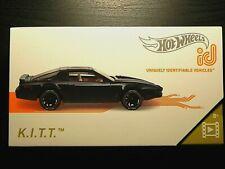 HOT WHEELS id Series 1 HW SCREEN TIME K.I.T.T. Knight Rider Smart Track Car 1 /5