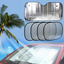 5 Car Sun Shade front Rear Side Window Windshield Suction Cup Sun Visor Sunshade
