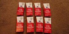 Pure Vanilla Extract (Madagascar vanilla bean) 8 BottlesExp.2022