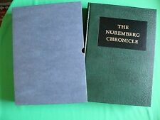 THE 1493 NUREMBURG CHRONICLE FACSIMILE by SCHEDEL, LANDMARK PRESS, 1979 - NEW!!
