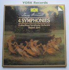 DG 415 502-1 - BERWALD - 4 Symphonies JARVI Gothenburg - Ex 2 LP Record Box Set