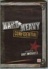 Hard + Heavy Confidential Featuring Bret Michaels (Slimline DVD, 2008) BRAND NEW