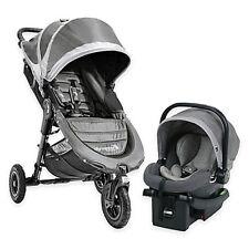 Baby Jogger 2018 City Mini GT Single Stroller Travel System – Steel Grey