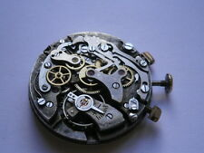 Vintage gents CHRONOGRAPH movement mechanical watch spares or repair LANDERON 54