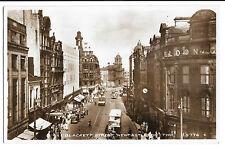 Blackett Street Newcastle Upon Tyne RP PPC Valentines H5776 Showing Eldon Bldgs