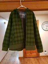 The North Face jacket mens XL plaid green fleece hooded jacket NWOT North Face