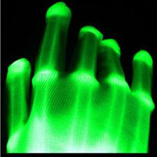 XBone GREEN Rave LED Gloves Burning Wear Man Light Up Show - FREE SHIPPING~!