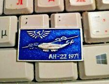 Vintage Abzeichen Pin Badge AEROFLOT soviet airplane Flugzeug AN-22 ANTONOW