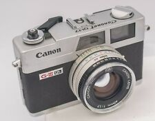 Canon Canonet G-III QL17 35mm Film Rangefinder Camera w/ 40mm F1.7 Prime Lens
