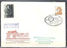 Poland 1973 - Stagecoach Post on the trail of Copernicus. Lodz - Tuszyn