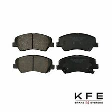Premium Ceramic Disc Brake Pad FRONT Set Fits Hyundai Accent KIA Rio KFE1593