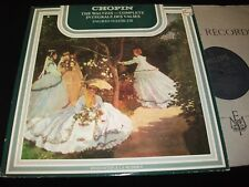 CHOPIN THE WALTZES<>INGRID HAEBLER<>Lp Vinyl°Canada Press°PHILIPS 6539 007