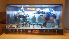 Lego Star Wars Store Display AT-AP 75043 and Droid Gunship 75042 Rare Starwars