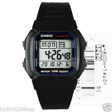 W-800H-1A Black Genuine Casio Dual Time Alarm Digital Men's Watch Digital New
