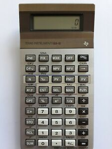 Texas Instruments Executive Business Analyst II.