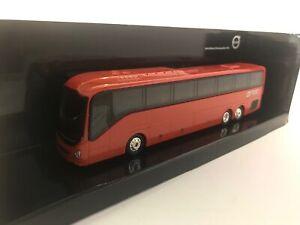 Bus VOLVO 9700 Rouge ,MOT300086, échelle1/87,MOTORART