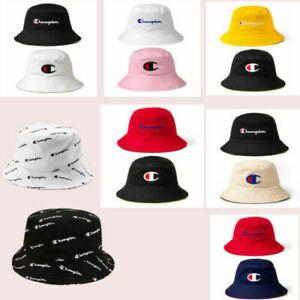 Summer Champion Bucket Cap Fisherman Hat Sun Hat Double-sided Basin Hats Fashion