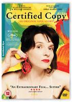 Certificado Copia DVD Nuevo DVD (ART512DVD)