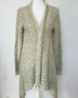 Anthropologie Gray Cardigan Sweater Medium
